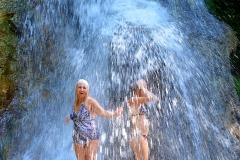 Водопад ущелья Мишоко
