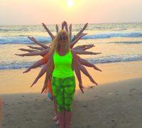 Закончился наш волшебный йога-тренинг в Индию (март 2016)