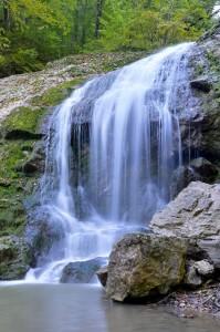 Горный курорт Хадхох. Водопад ШУМ