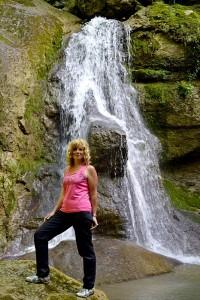 На водопаде Мишоко