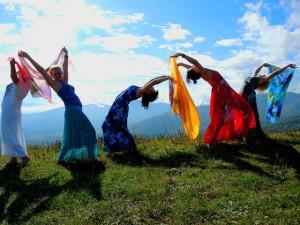 танец ветра