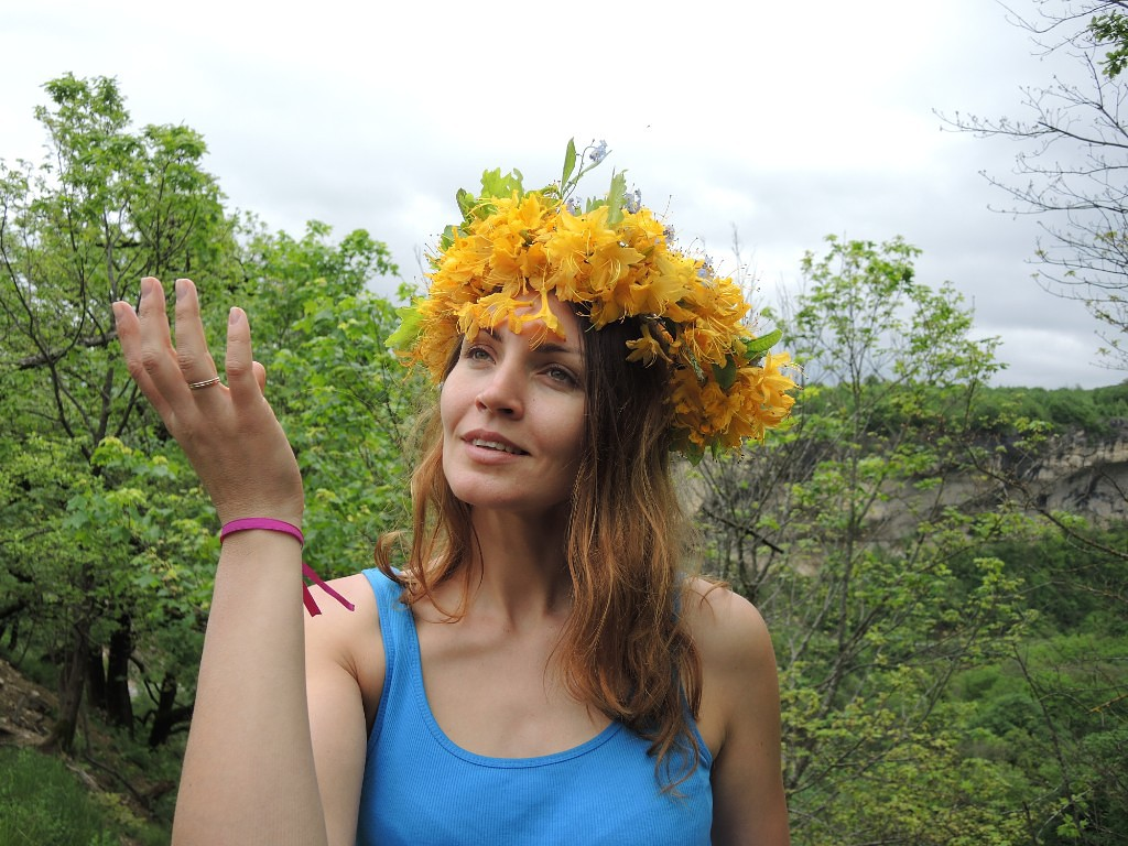 Ольга - участница майского тренинга